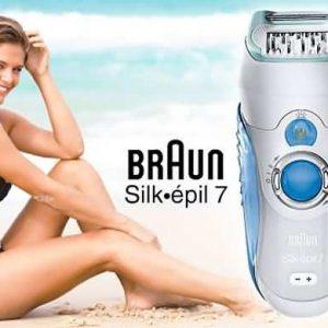 aparelho Braun silk Epil 7