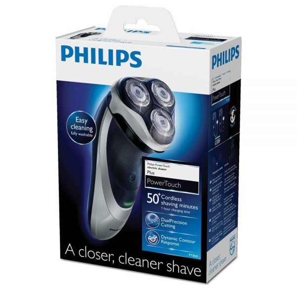 Caixa Barbeador Phillips PT860 Aquatouch